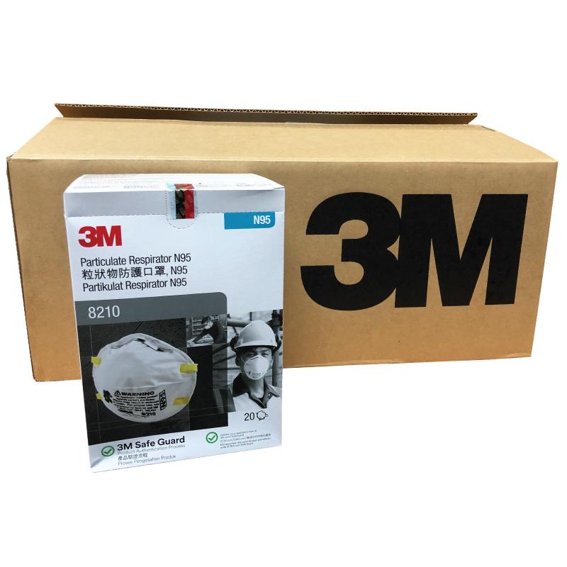 H1N1 Mask - N95 3M 8210 mask / 3M respirator