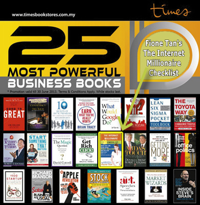 Internet Marketing Coach featured as 25 MOST POWERFUL BUSINESS BOOKS