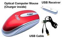 wireless rechargeable mouse online shopping