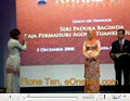 Fione Tan in the Top 10 National Women Entrepreneurs Award 2008